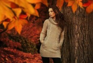 Damenmode im Herbst