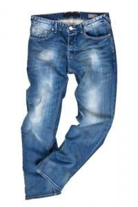 Jeans mit Auswaschung