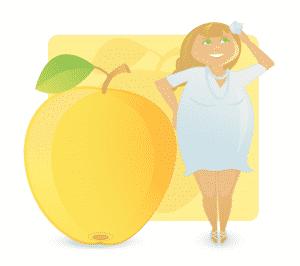 Der Figurtyp Apfel